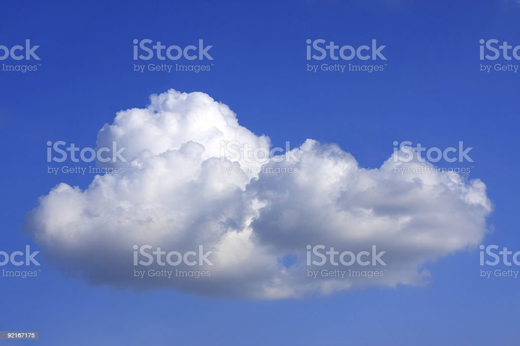 Cumulus royalty-free stock photo
