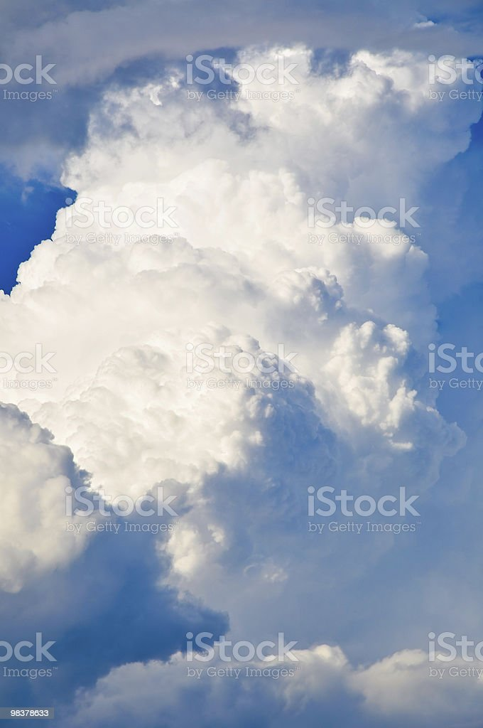 Cumulusnimbus royalty-free stock photo