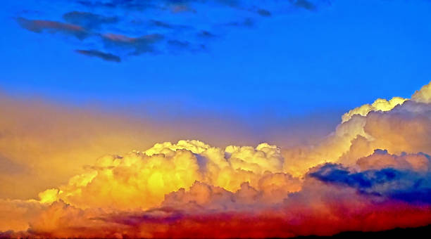 Cumuluswolken – Foto