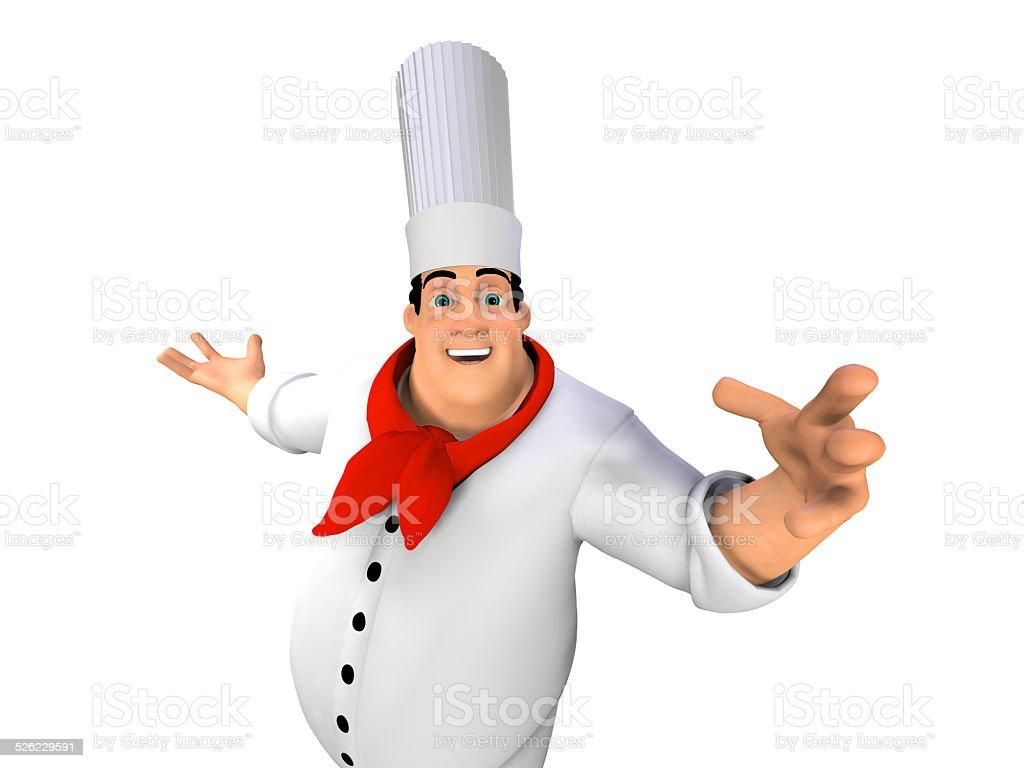 Cuoco stock photo