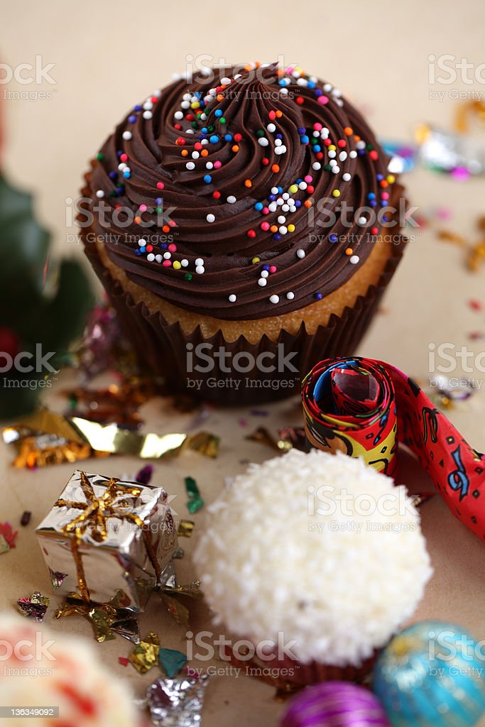 Cup Cake Series royalty-free stock photo