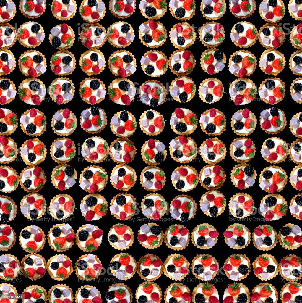 Cup Cakes - tapet eller bakgrund - Royaltyfri Baka Bildbanksbilder