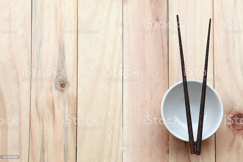 Cup chopsticks stock photo