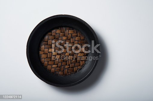 cup coaster on white background