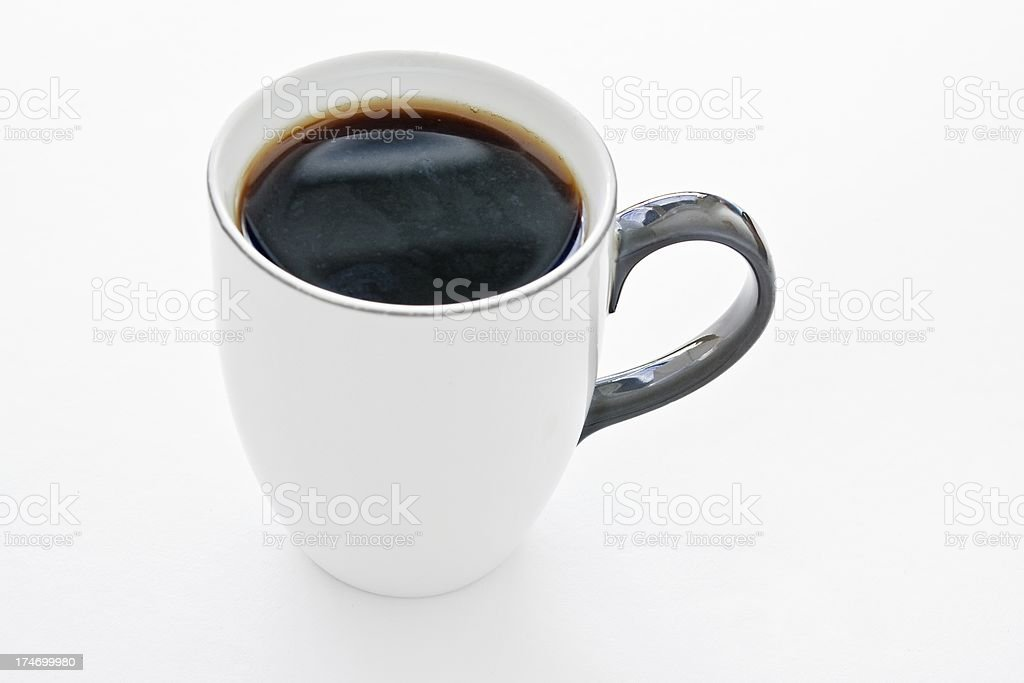 cup hot coffee royalty-free stock photo