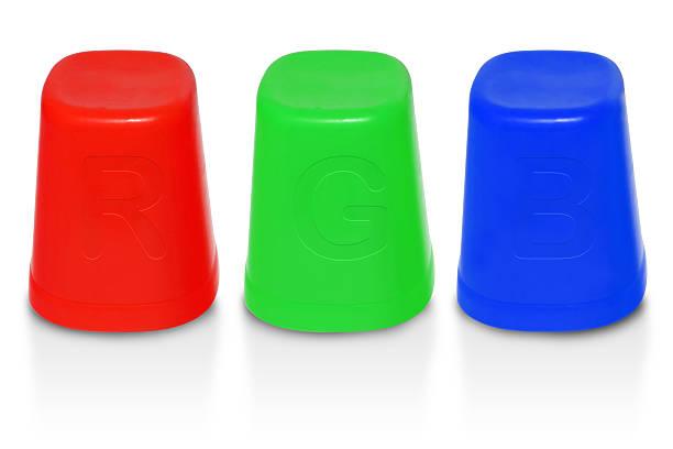 rbg cup isolate - rbg stok fotoğraflar ve resimler