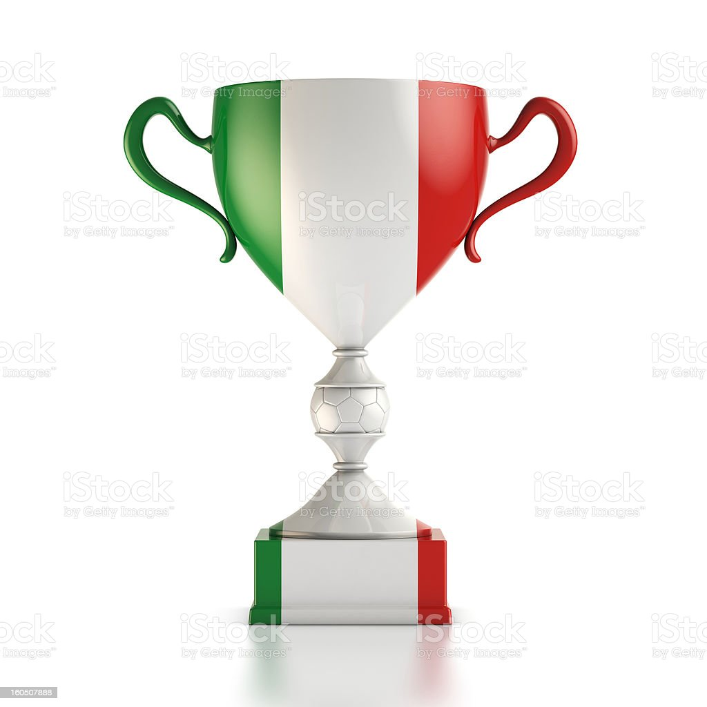 Cup Italy royalty-free stock photo