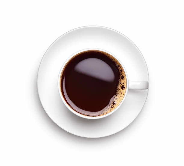 A cup of black coffee over white background - Clipping path included A cup of black coffee over white background - Clipping path included coffee cup stock pictures, royalty-free photos & images