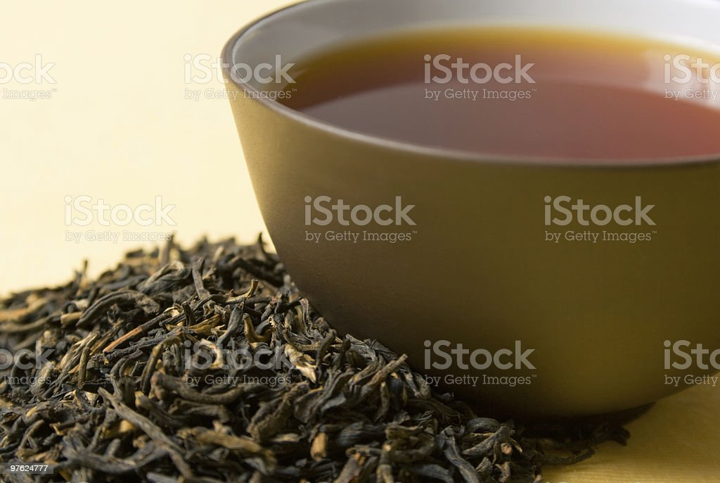 cup of black tea royalty-free stock photo