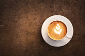 istock Cup of cappuccino 636267692
