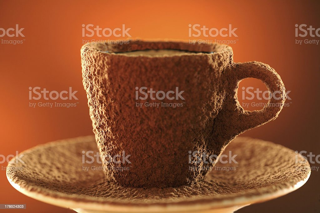 Cup of cocoa royalty-free stock photo