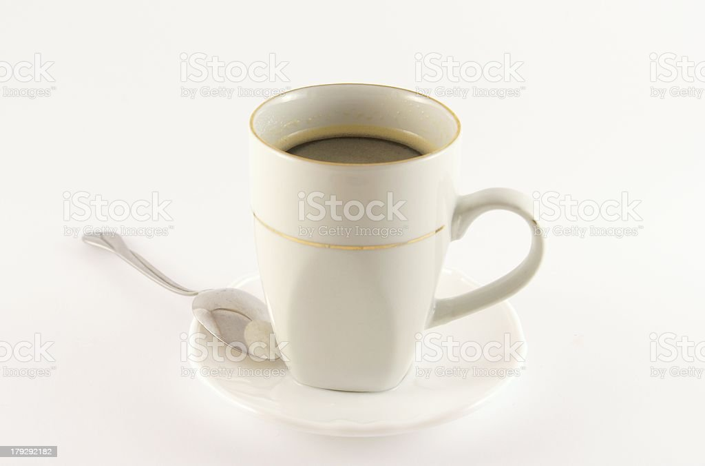 cup of cofee royalty-free stock photo