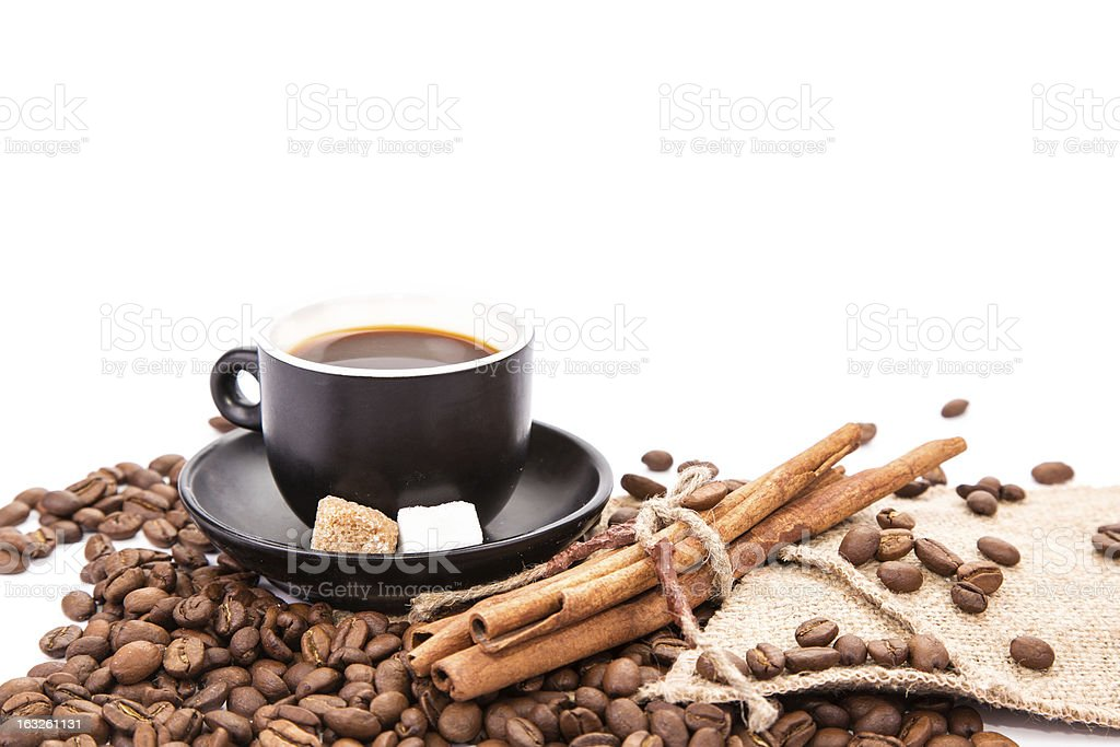 Cup of coffee. Coffee break concept. royalty-free stock photo