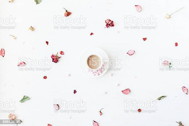 Cup of coffee dried flowers and leaves flat lay picture id636425198?b=1&k=6&m=636425198&s=612x612&h=xuaulgyrmxzpdct0y2qtns9grcyq6uwr9cawdot5mqy=