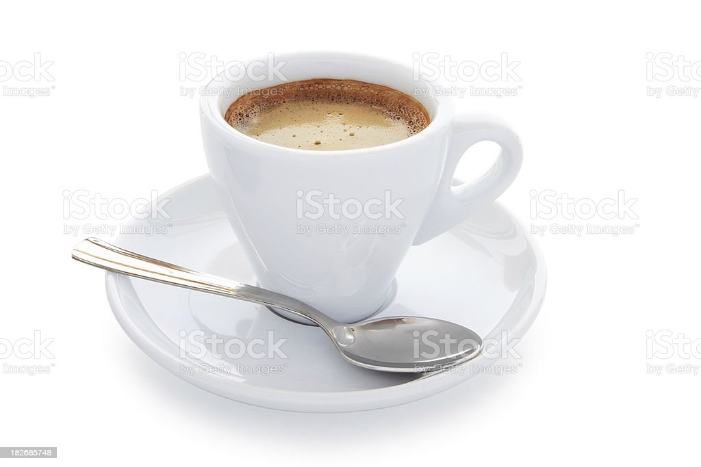 Cup of coffee. stock photo