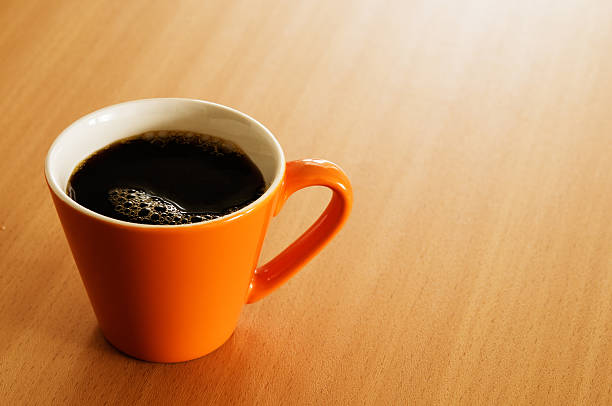 Cup of coffee Cup of coffee on a table. black coffee stock pictures, royalty-free photos & images