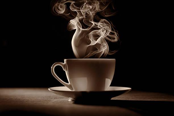 xícara de café (tea) - chá bebida quente - fotografias e filmes do acervo