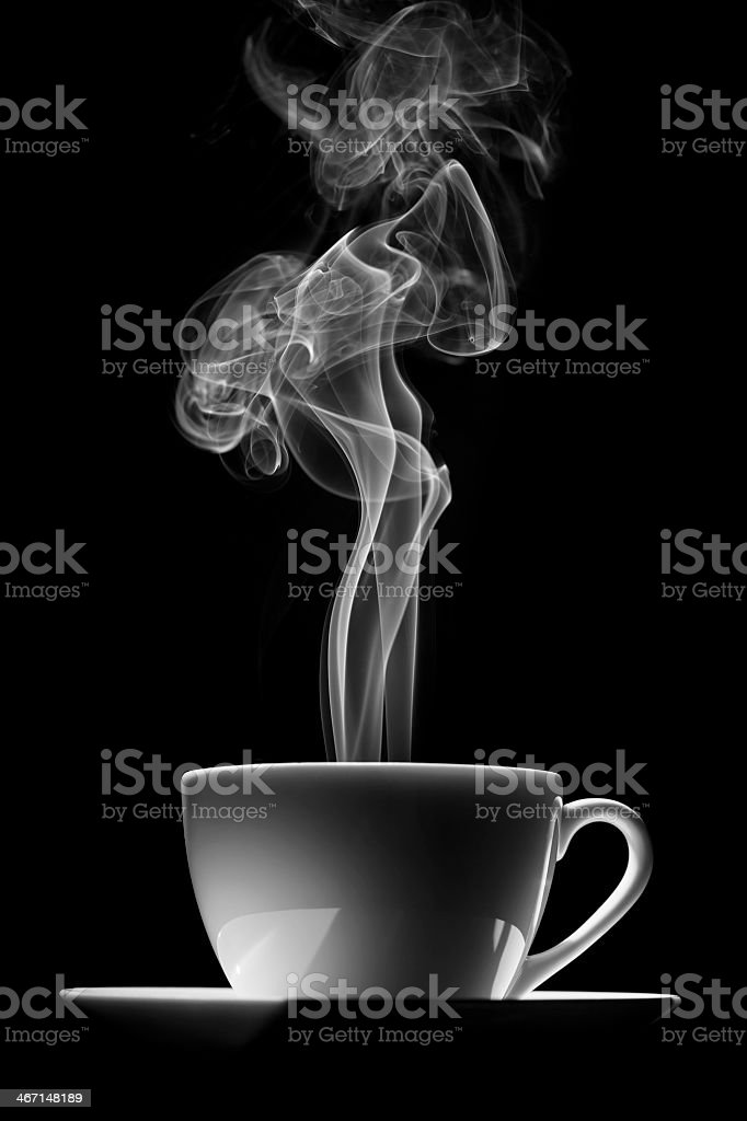 cup of coffee (tea) royalty-free stock photo