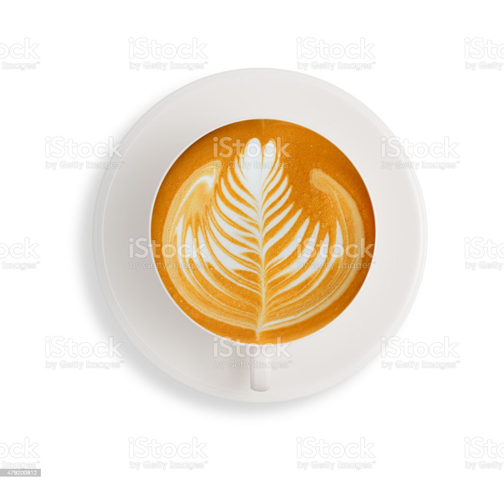 Cup of coffee stock photo