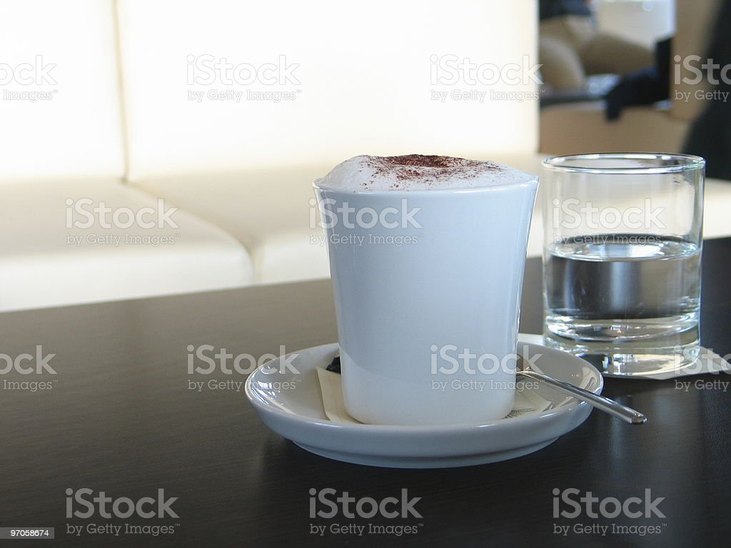 Cup of coffee #3 royalty-free stock photo