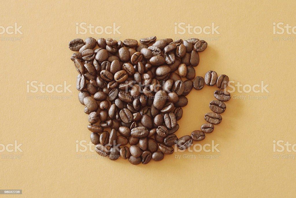 잔의 커피 royalty-free 스톡 사진
