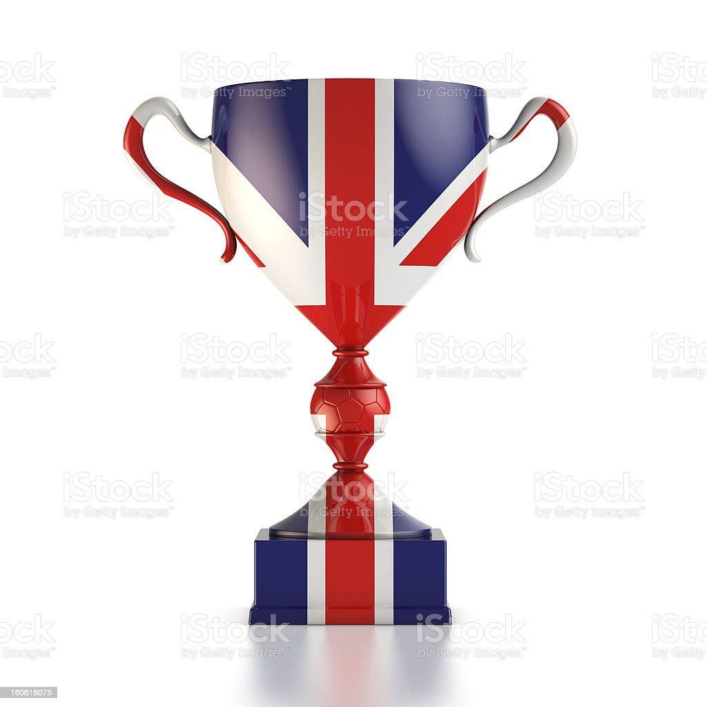 Cup of England stock photo