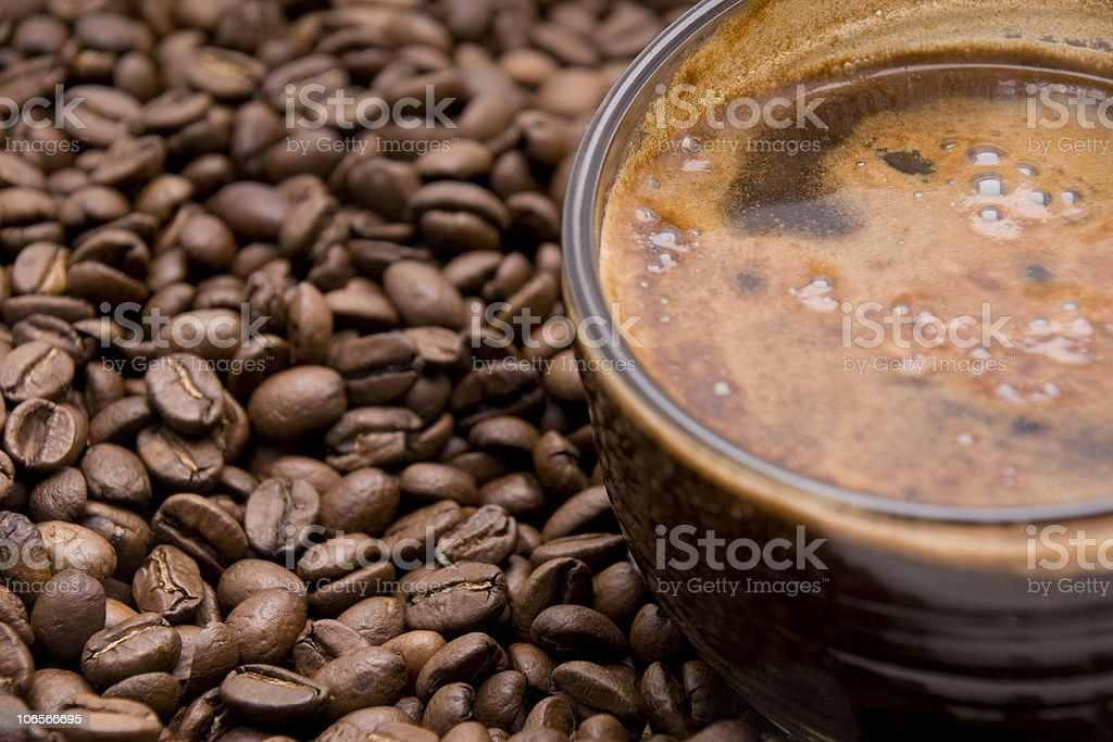 cup of espresso royalty-free stock photo
