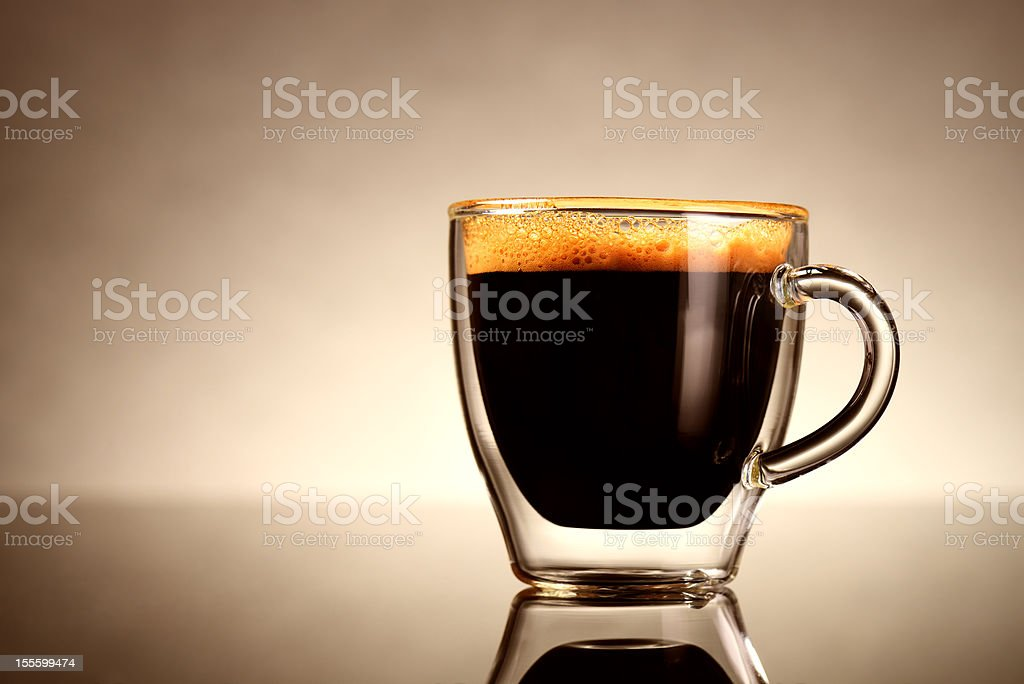 Cup of Espresso stock photo