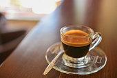 Espresso, Coffee - Drink, Coffee Cup, Roasted Coffee Bean, Single Object