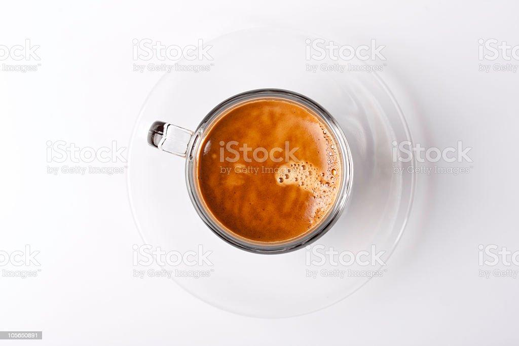 Kubek espresso zdjęcia z crema – zdjęcie