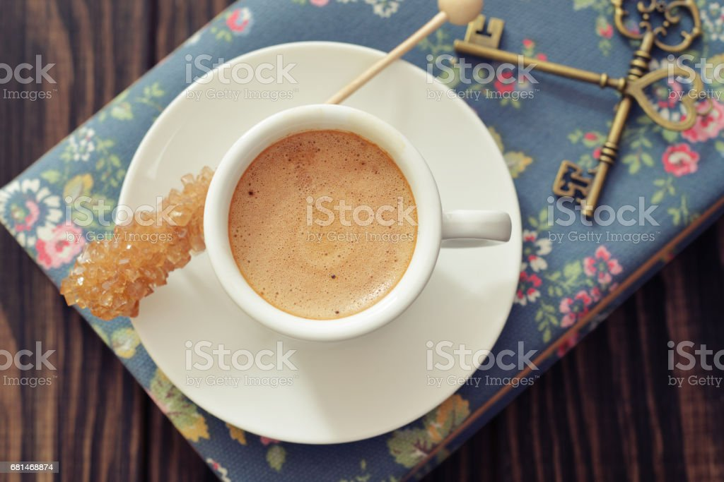 Cup of esspresso royalty-free stock photo