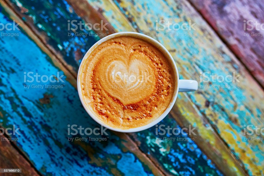 Cup of fresh coffee royalty-free stock photo