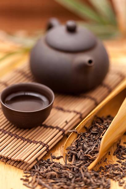 Tasse grüner Tee – Foto