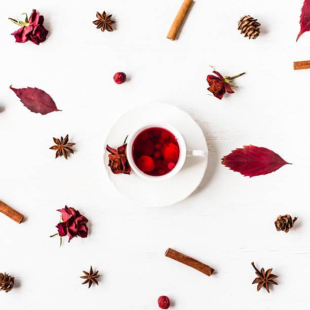 Cup of fruit tea with autumn leaves dried rose flowers picture id594923108?b=1&k=6&m=594923108&s=612x612&w=0&h=jwbq9sdisd4mo2j8uhelakmgtjvhx 2u8klyfyqi1k0=
