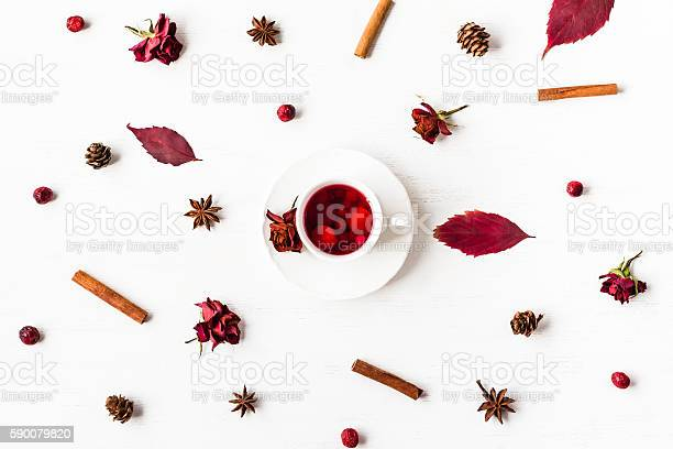 Cup of fruit tea with autumn leaves flat lay picture id590079820?b=1&k=6&m=590079820&s=612x612&h=nt  xbncfs7lrv vwomxqubcxc59xckqdnc0z2b9wyy=