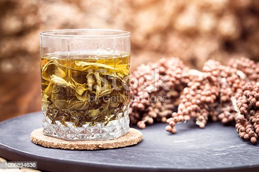 A Cup Of Herbal Tea
