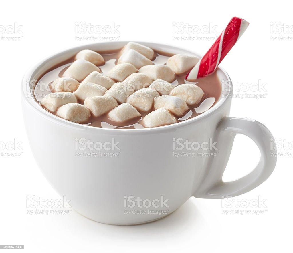 Xícara de Chocolate quente - foto de acervo