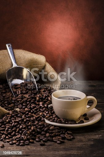 istock cup of hot coffee .still life 1049425726