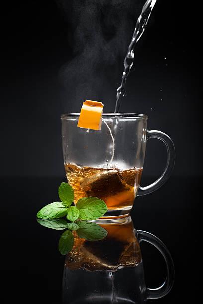 Tasse heißer Tee – Foto