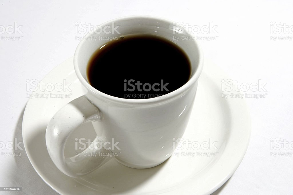 Cup of Java stock photo