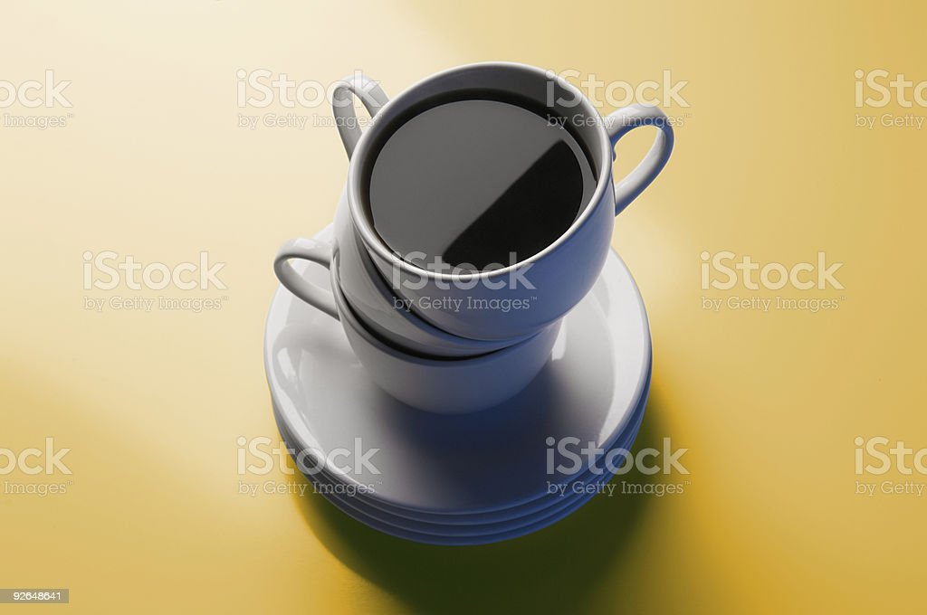 Cup of Joe royalty-free stock photo