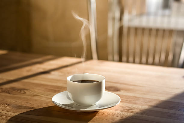 cup of morning coffee - coffee stock pictures, royalty-free photos & images