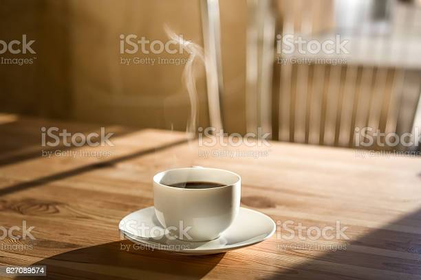 Photo of Cup of morning coffee