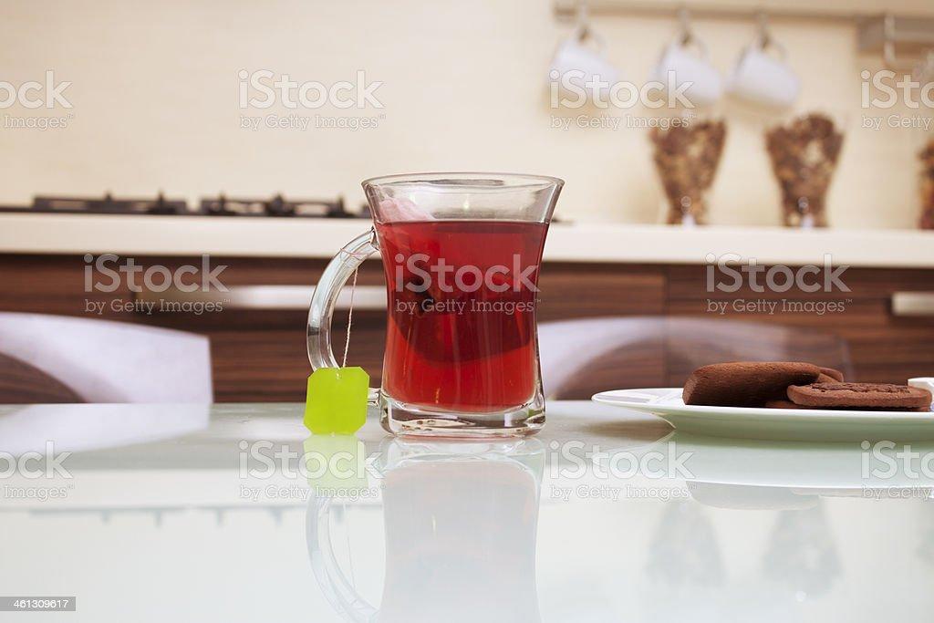 Cup of organic tea royalty-free stock photo