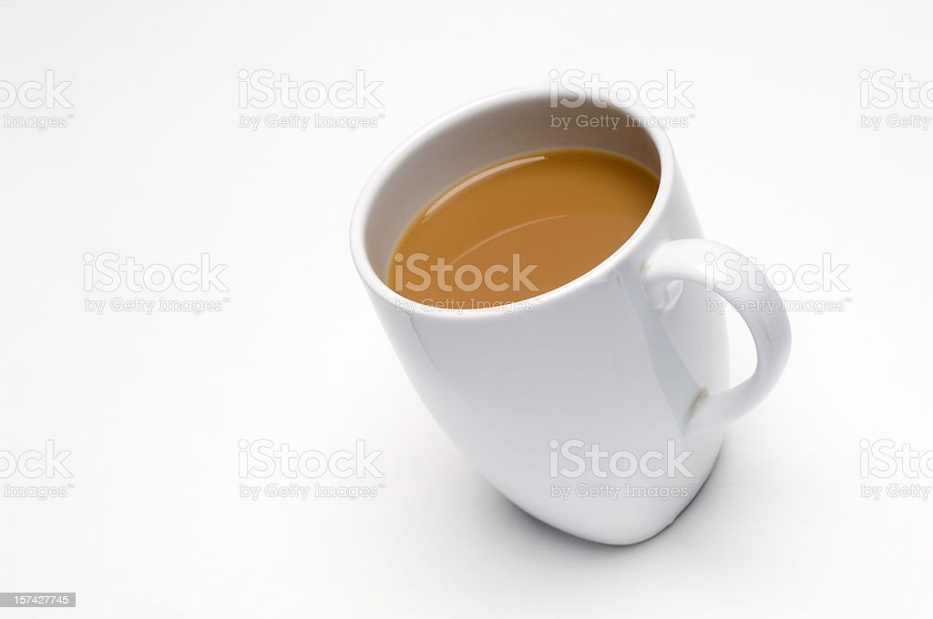 Cup of Tea isolated on white stock photo
