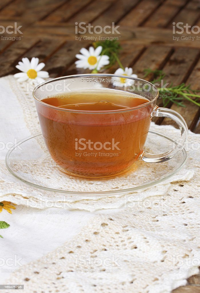 cup of tea on table royalty-free stock photo