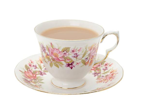 cup of tea. - theekop stockfoto's en -beelden