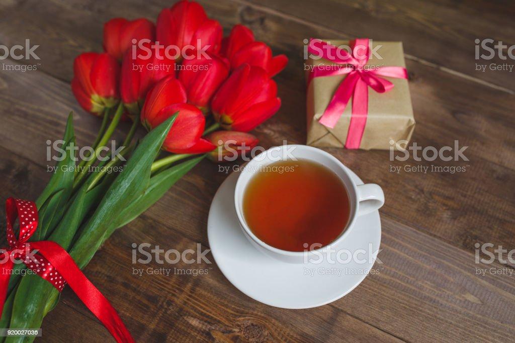 Valentinstag geschenk tee