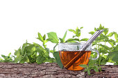 istock Cup of tea with different herbs 480093717