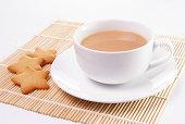 紅茶にミルク